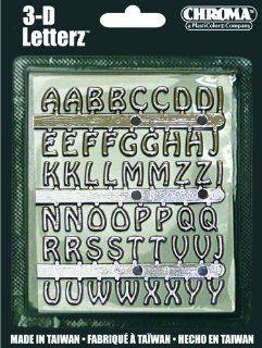 3 D Letter Kit Chrom (1/2 inch): Automotive