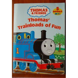 Thomas Trainloads of Fun (Thomas & Friends) (Jumbo Coloring Book) Golden Books 9780375836602  Children's Books