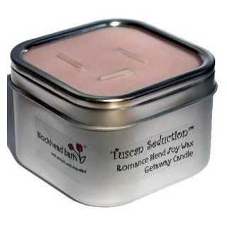 Soy Wax Travel Candle   Tuscan Seduction (Romance Blend): Beauty