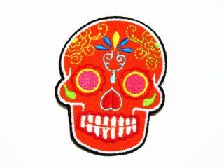 Art skulls13 Logo iron on patch great gift for men and women/Ramakian
