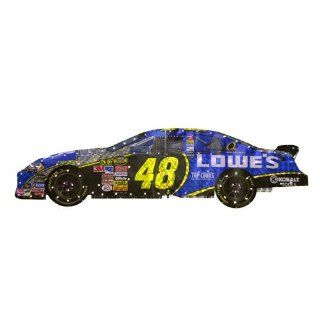 Nascar Jimmy Johnson Light up Race Car Window Decoration : Sports Fan Toy Vehicles : Sports & Outdoors