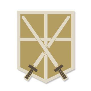 Attack on Titan training corps emblem (japan import): Toys & Games