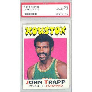 1971 Topps Basketball 68 John Trapp Rockets PSA 8 Near Mint to Mint at 's Sports Collectibles Store