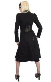 Necessary Evil Minerva Gothic Ladies Twill Coat Wool Outerwear Coats