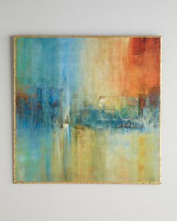 Blue Cascade Abstract   John Richard Collection
