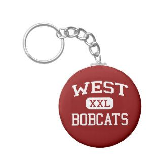 West   Bobcats   Middle   Tullahoma Tennessee Key Chains