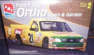 #8304 AMT/Ertl Ortho Lawn & Garden Ford F 150 Nascar Truck 1/25 Scale Plastic Model Kit,Needs Assembly Toys & Games