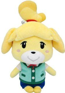 "Sanei Animal Crossing New Leaf 8"" Plush Toy: Isabelle/Shizue: Toys & Games"