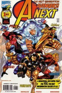 A Next Comic #1 (The Next Generation Avengers): DeFalco/Frenz/Breeding: Books