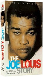 Joe Lewis Story [VHS]: Coley Wallace, Hilda Simms, Paul Stewart, James Edwards, John Marley, Dots Johnson, Evelyn Ellis, Carl 'Rocky' Latimer, John Marriott, Ike Jones, P. Jay Sidney, Royal Beal, Joseph C. Brun, Robert Gordon, Dave Kummins, Stirlin