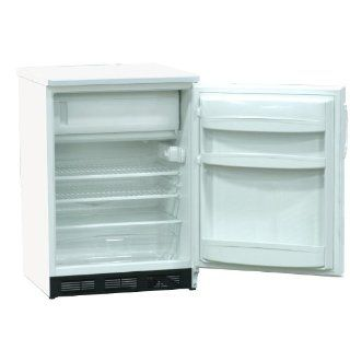 "Nor Lake Scientific LRF051WWW/0M Painted White Undercounter Refrigerator/Freezer, 115V, 60Hz, 4.1 cu ft Capacity, 23 5/8"" W x 33 1/2"" H x 24 7/8"" D, 2 to 8/ 10 to  20 Degree C: Science Lab Cryogenic Freezers: Industrial & Scientific"