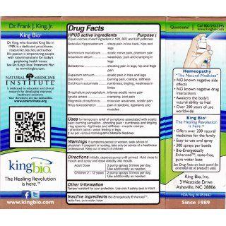 Dr. King's Natural Medicine Sciatic Nerve Formula , 2 Fluid Ounce: Health & Personal Care