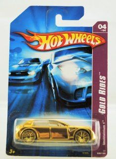 Hot Wheels   2006   Gold Rides   Unobtainium 1   04 of 04   #056/180   Limited Edition   Collectible Toys & Games