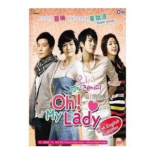 Oh My Lady (Ntsc All Region, Korean Tv Drama Dvd, English Sub, Complete Series 4 Dvds) Chae rim, Choi Si Won, Lee Hyun Woo, Moon Jung Hee Movies & TV