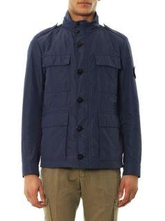 Micro Reps 4 pocket field jacket  Stone Island  MATCHESFASHI