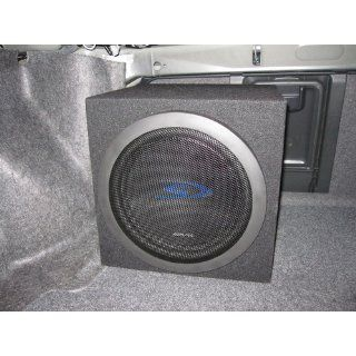 "Alpine SWS 1223D 12"" Type S Series Subwoofer (2Ω + 2Ω (EA): Car Electronics"