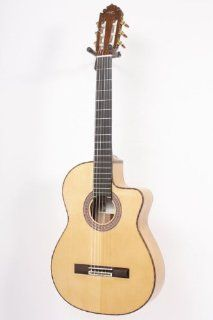 Manuel Rodriguez FF Cutaway Cypress Classical Acoustic Electric Guitar Regular 886830720000: Musical Instruments