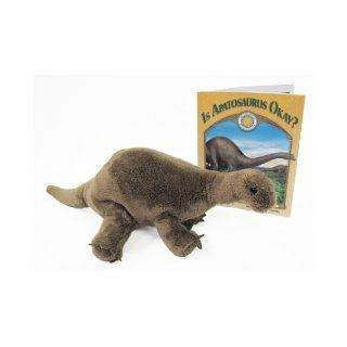 Is Apatosaurus Okay?   a Smithsonian Prehistoric Pals Book (Mini book with stuffed toy dinosaur) (Smithsonian's Prehistoric Pals) Ben Nussbaum, Trevor Reaveley 9781592495108 Books