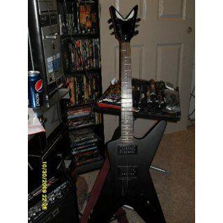 Dean ML XM Electric Guitar   Transparent Black Musical Instruments