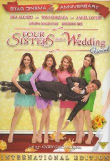 Four Sisters and a Wedding Filipino DVD: Bea Alonzo, Toni Gonzaga, Angel Locsin, Enchong Dee, Shaina Magdayao, cathy Garcia Molina: Movies & TV