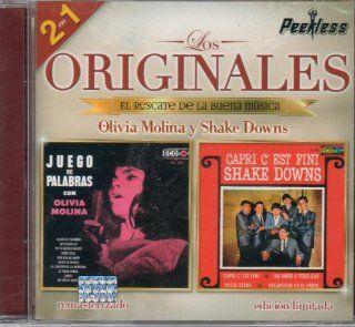 """OLIVIA MOLINA Y SHAKE DOWNS (EDICION LIMITADA) 2 EN 1 """"LOS ORIGINALES PEERLESS,EL RESCATE DE LA BUENA MUSICA"""".: Music"""
