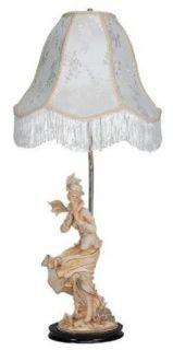 "27""H Victorian Lady Table Lamp OK LIGHTING OK 3439"