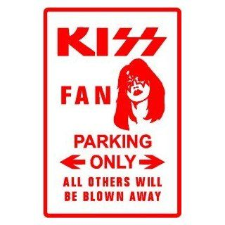 KISS PARKING ONLY novelty street sign   Decorative Signs