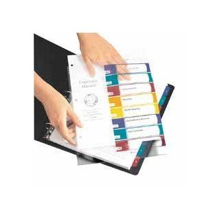 Ready Index Easy Edit Contents Dividers, Title 1 5, Letter, Multicolor, 6 Sets: Everything Else