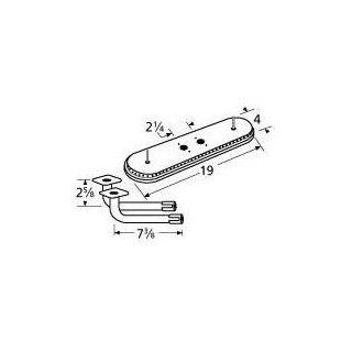 Music City Metals 15202 77102 Stainless Steel Burner Replacement for Select Gas Grill Models by Arkla, Charmglow and Others : Patio, Lawn & Garden