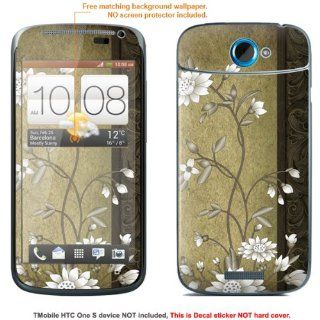 "Protective Decal Skin Sticker for T Mobile HTC ONE S "" T Mobile version"" case cover TM_OneS 214: Cell Phones & Accessories"