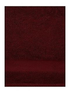Linea Egyptian cotton towel range in claret