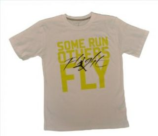 Jordan Boys 8 20 White Some Run Others Fly Tee Shirt (Xlarge (20), White) : Athletic T Shirts : Sports & Outdoors