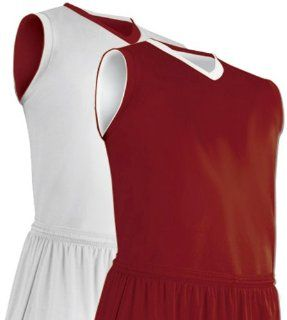 Reversible Clutch Z Cloth Custom Basketball Jerseys Outside CHARCOAL, Inside WHITE YM  Basketball Equipment  Sports & Outdoors