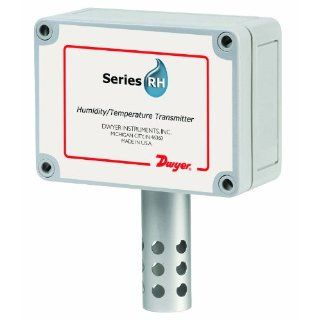Dwyer Series RHP RH/Passive Temperature Sensor Transmitter, OSA (Outside Air), 4 20 mA RH Output, 10K @ 25�C Thermistor (Type III): Industrial & Scientific