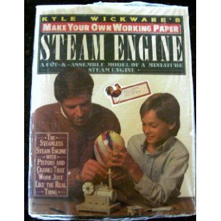 Make Your Own Working Paper Steam Engine (Make Your Own Paper Machine Series) Kyle Wickware 9780060960346 Books