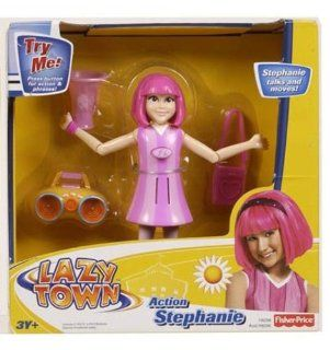 Lazytown Lazy Town Action Figure Stephanie: Toys & Games