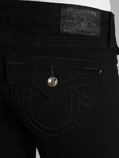True Religion Misty skinny ponte jeans with crystals Black