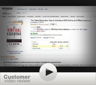 The Virtual Executive: How to Act Like a CEO Online and Offline   Kindle edition by D. A. Benton. Business & Money Kindle eBooks @ .