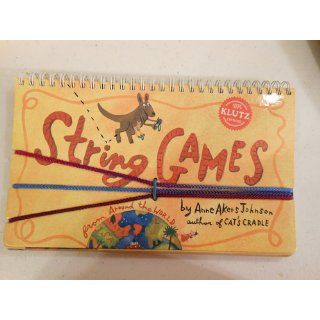 String Games (Klutz) Anne Akers Johnson 9781570540400  Kids' Books