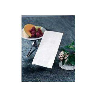 Hoffmaster K400 White 4Ply 8 Fold Dinner Napkins 17 x 20 inch   Greek Key Embossed, 75 per pack    900 per case.: Industrial & Scientific