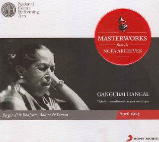Gangubai Hangal Masterworks from the NCPA Archives (Set of 2 Audio CDs) Music