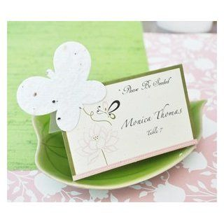 Please Be Seeded Butterfly Plantable Seed Place Cards (set of 12)   Baby Shower Gifts & Wedding Favors: Baby