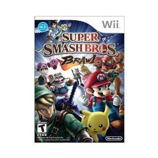 New Nintendo Super Smash Bros Brawl Action/Adventure Game Wii Excellent Performance High Quality: Video Games
