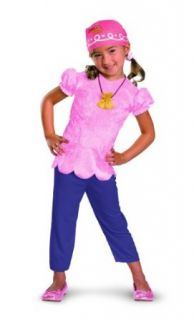 Disney Jake And The Neverland Pirates Izzy Classic Costume: Clothing