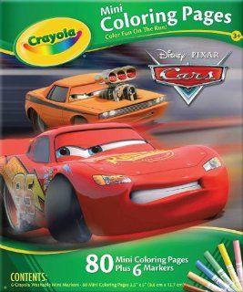 Crayola Mini Coloring Pages   Disney Pixar Cars Race O'Rama