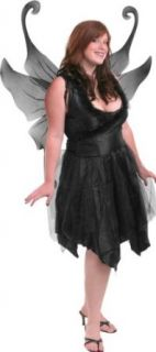 Plus Size Sexy Dark Fairy Costume: Clothing