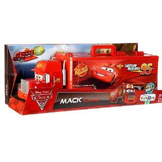 Disney / Pixar CARS 2 Movie Exclusive Carry Case Playset Mack Playcase: Toys & Games