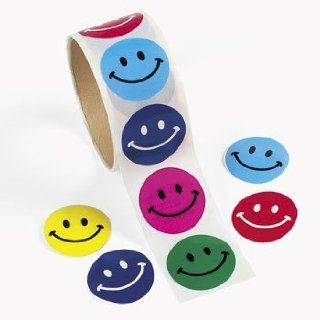 Smile Stickers   100 stickers per unit Toys & Games