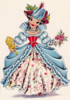 Counted Cross Stitch Pattern Chart Graph   International French Doll France: Everything Else