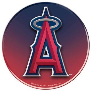 "Los Angeles Angels Official MLB 3""x3"" Domed Car Decal by Wincraft : Sports Fan Decals : Sports & Outdoors"